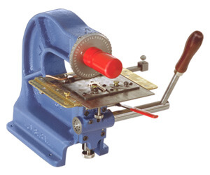 model 40b metal plate stamping machine