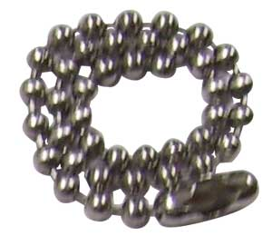 SUPPLY DEPOT MILSPEC Stainless Steel Ball Chain Bag of 100